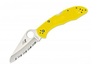 spyderco yellow 01sp231